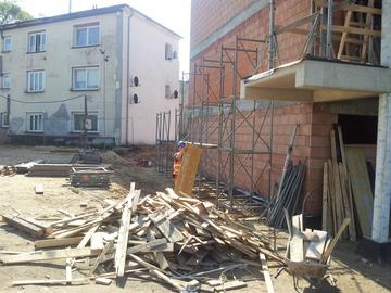 Galeria Budowa budynku socjalnego w Gogolinie wraz z zagospodarowaniem terenu.